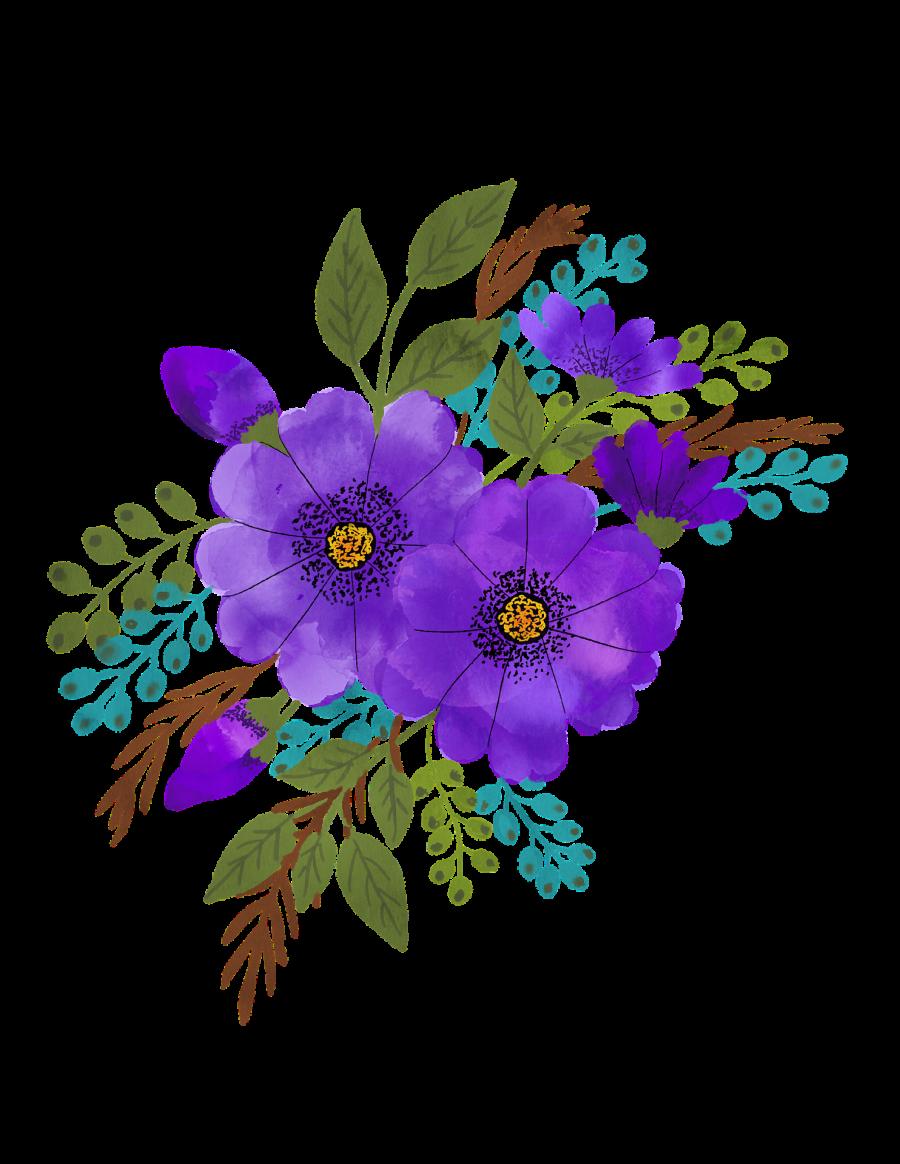 watercolour-flowers-4225160_1920
